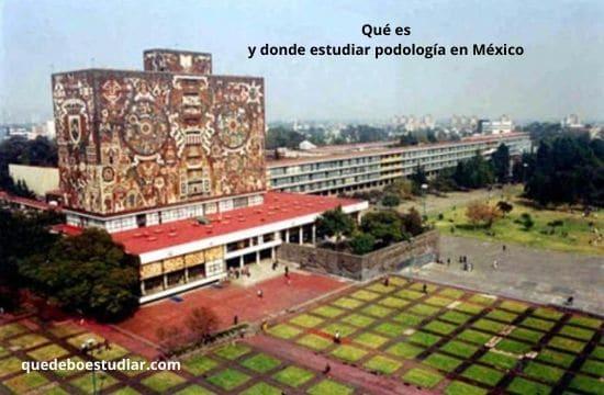 Qué es y donde estudiar podología en México
