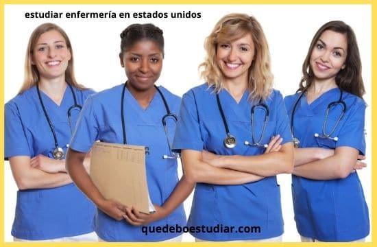 Como y donde estudiar enfermería en estados unidos