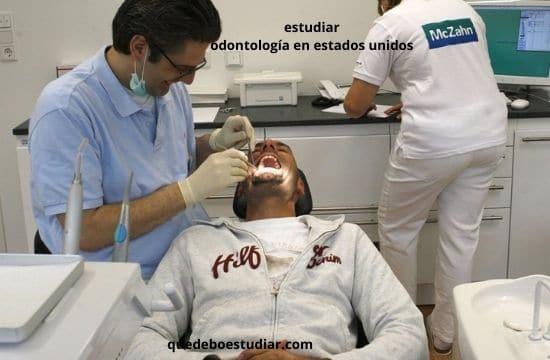 estudiar odontología en estados unidos