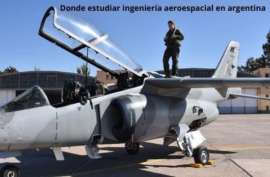 Universidades para estudiar ingeniería aeroespacial en argentina