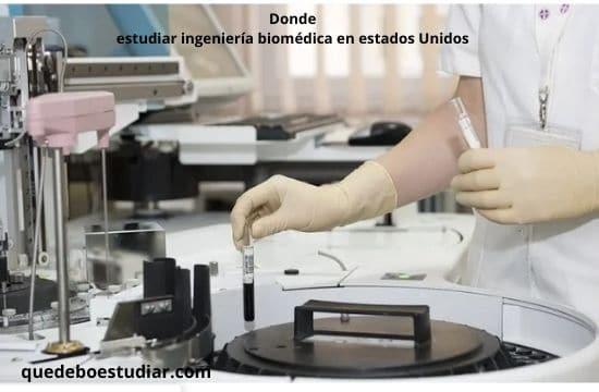 Mejores universidades para estudiar ingeniería biomédica en estados Unidos