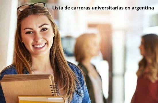 lista de carreras universitarias en argentina
