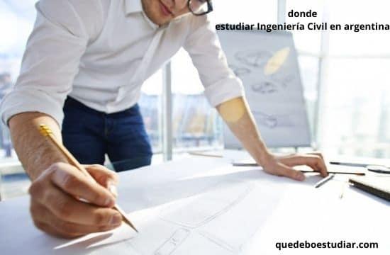 Universidades en donde estudiar Ingeniería Civil en argentina