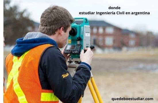 donde estudiar Ingeniería Civil en argentina