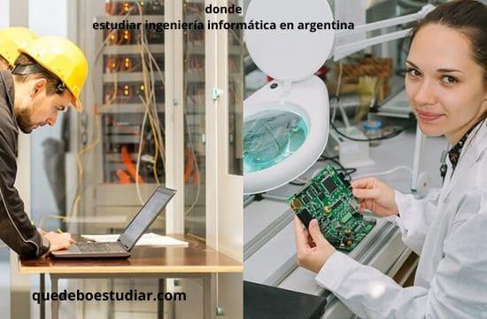 estudiar ingeniería informática en argentina
