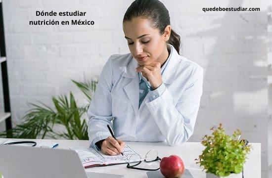 Mejores Universidades en Dónde estudiar nutrición en México