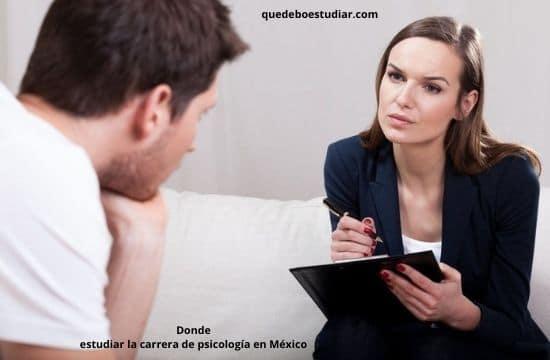 Universidades en donde estudiar la carrera de psicología en México